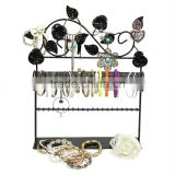 elegance black colour hand chain jewelry display