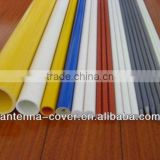 colorful fiberglass rods and tubes