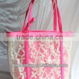 fashionable lace sling handbag for girls