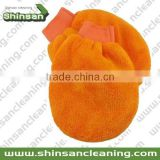 27*19cm terry cloth wash mitt /Microfiber cleaning chenille mitt/Mitt Microfiber Car Cleaning Glove