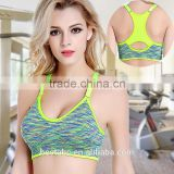 Breathable Sport bra women Nylon/Polyester/Spandex Material cheap wholesale sports bra