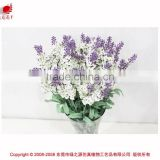 Popular import China fabric artificial flowers garden landscape preserved flowers decoration