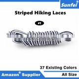High Strength Round Shoelaces Hiking Climbing Backpacking Mountaineering Walking Skate Boot Shoelace All Sizes In Various Colors