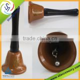 high quality colorful brass hand bell