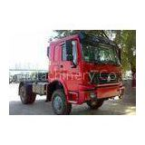 HOWO 4x4 Manual Prime Mover Truck All Wheel Drive with 7100kg Payload , Off Road Model