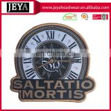 Saltatio mortis woven horologe embroidery patches wholsaler