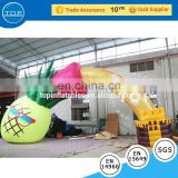 Commercial balloon arch advertising inflatables for fun