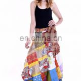Indian 2017 Rapron Skirts Party Dress For Women Knee Length Wrap Skirts Summer Fashion Beach Skirts Long Skirt Maxi Beach