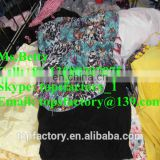 Cheap cream second hand export clothes unsorted second hand clothes