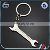 personalised metal wrench bottle opener keyring