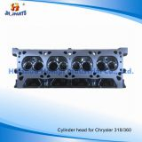 Auto Parts Cylinder Head for Chrysler 318/360 V8 5.2/5.9L Chrysler/Jeep698 L6