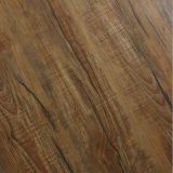 12mm Coffee Handscraped Hickory Laminate Flooring