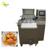 Cookie depositor machine food tray for waffles waffle biscuit
