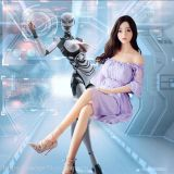 AI Intelligent Couple Robot Sex Machine Partner Solid Doll Male Articles