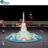 how to draw a musical dancing fountain design