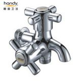 Double Cross Handles Washing Machine Taps