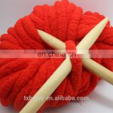 Extra Fine Super Soft For Baby Blanket cloth Needle Knitting Wool 100% Chenille Yarn Hand Knitting