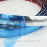 Extruding plastic moulding type car chrome strip