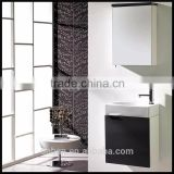 good service pvc bathroom wash vanity basin cabinet with small bathroom cabinet table door