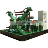 carbon dioxide/carbon monoxide gas compressor,oil free reciprocating power plant, food industry