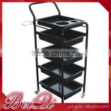 Beiqi 2016 Wholesale Cheap Used Barber Salon Furniture Salon Moving Trolley Bus with Five Trays for Sale