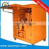 High Performance Double Stage transformer filtration,transformer oil testing machine