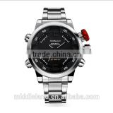 HOT!2015 hot sells business watch with LED digital movement