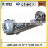 high quality SHACMAN truck parts front axle of tractor