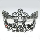 Women's Swan Metal Filigree Laser Cut christmas carnival Mask