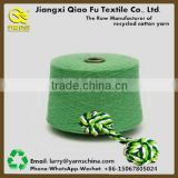 Open End Carded Recycled Cotton Polyester Yarn for Making Hand Made Colorful Pet Rope Ball Toys