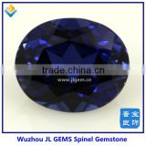 Wholesale Oval Shape cut 112# Blue Spinel Beads for Jewelry