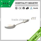 stainless steel hotel serving spoon