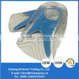 orthotic TPE insole gel heel cup insole for shoes