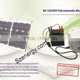 solar dc24v cooker with portable solar system