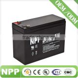 12v9ah high power hot sale deep cycle battery rechargeable battery for dvd player china factory