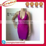 Sexy celebrity dress fashion mature women cocktail dress