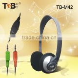 2015 best selling stereo PC computer Mp3 Mp4 cheap wired stylish gaming headset with mic and volume control