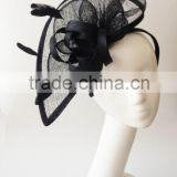 Black fascinator hats,fascinator wholesale,Derby fascinator,tea party fascinator,church fascinator hat on headband