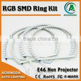 5050 Angel eye SMD RGB led ring B/R/W/Y/G car led light led angel eyes halo ring