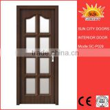 Glass insert pvc windows and doors