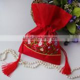 Fancy Exquisite Brocade wedding bag for candy,wedding sweet bags                                                                         Quality Choice