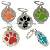 Personalized Engraved Designers Round Paw Pet ID Tag Dog Tag                                                                         Quality Choice
