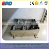 Golf course restaurant with oil-water separator/grease trap