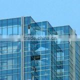 crystal blue reflective glass insulated glass with ISO building glass, manufacturer , qinhuangdao