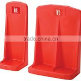 Red single and double fire extinguisher stand                                                                                                         Supplier's Choice