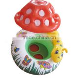 pvc plastic inflatable water baby seat / baby boat/table lamp design