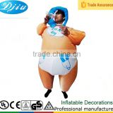 DJ-CO-185 baby inflatable full latex body suit with inflatable breasts interesting products 2015