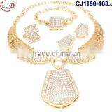 CJ1186-28 Top grade quality fashionable wholesale price indian bridal jewelry sets for sale