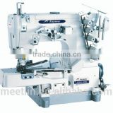 AS664-02BB High speed cylinder bed interlock sewing machine with rolled-edge