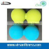 Ningbo high quantity colorful selection 2 myofascial release balls&peanut massage ball